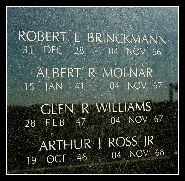 Robert E Brinckmann, NJ Vietnam Memorial, © 2004 by Anthony Buccino,