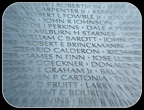 Brinckmann, KIA Vietnam, Vietnam Veterans Memorial, Washington DC, © Anthony Buccino,