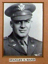 2nd Lt. Stanley Hand, killed in action August 13, 1945