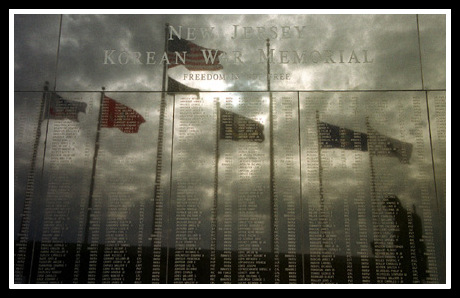 NJ Korean War Memorial - Courtesy of state of NJ Veterans Information Office