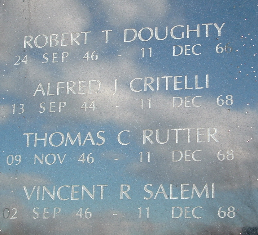 Alfred J. Critelli - NJ Vietnam Memorial, photo © 2004 by Anthony Buccino