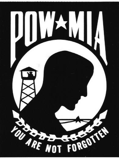 POW-MIA - You are not forgotten