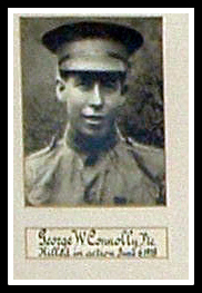 George Connolly, Nutley, NJ. KIA, WWI